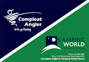 Completeat Angler & Camping World.